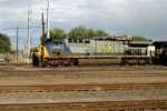 CSX AC-6000CW #5005 prepares to take a westbound out of the yard