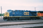 CSX ES-44DC #5339 takes a westbound out of the yard