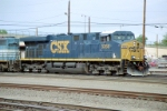 CSX ES-44DC #5368 leads an eastbound into the yard