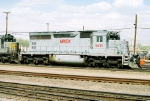 NREX SD-40 #5413 is head out with a QNSL SD-40-2 behind