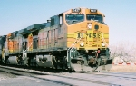 BNSF C44-9W #5437 leads an eastbound at Don Felipe Rd.