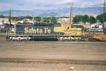 BNSF SD-40-2#6856 switches the yard
