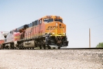 BNSF ES-44DC #7629 leads an eastbound at Don Felipe Rd.