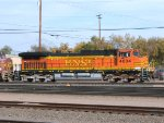 BNSF C44-9W #4804 leads an eastbound into the yard