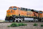 BNSF ES-44DC #7649 leads an eastbound