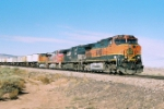 BNSF C44-9W leads an eastbound