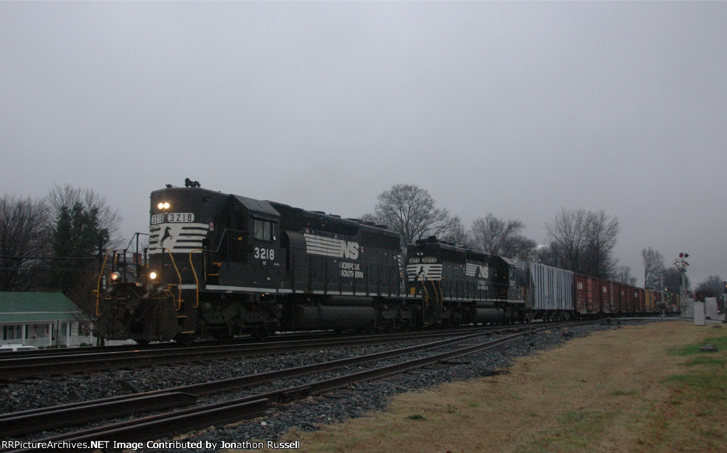 NS 3218 leads NS-156