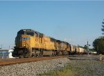 UP 4351 leads NS-M72 @ North Kannapolis