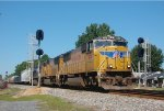 UP 4158 leads NS-119 @ North Kannapolis