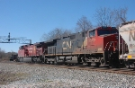 CN 2640 on NS 186 @ Lee