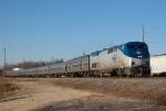 AMTK 188 leads Amtrak-80 @ Maybelle
