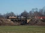 NS 1074 leads NS-135 @ Third Creek