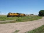 Conveyor Train Westbound at Sidney, NE