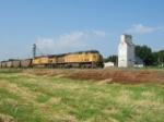 Coal Train at Woodbine Iowa