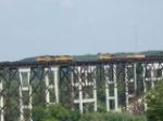 A meet on the Kate Shelley Bridge
