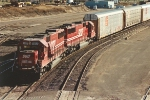 CP transfer to BNSF Northtown with nice power