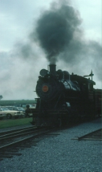 Pennsylvania Railroad (PRR) Juniata 4-4-0 Steam Locomotive No. 1223