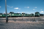 1222-06 BN switchers at Mpls Jct. roundhouse