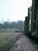 1224-35 Southbound C&NW freight on ex-M&StL mainline between Carver and Merriam