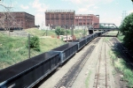 1244-09 Coal train on BN at ex-GN First Street North (Hole in the wall)