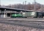 1254-29 BN #1101 at Daytons Bluff Yard