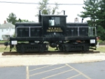 Whitcomb on display at Rochelle Railroad Park