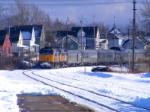 VIA 15 arriving at Amherst
