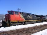 CN 407 departing Amherst