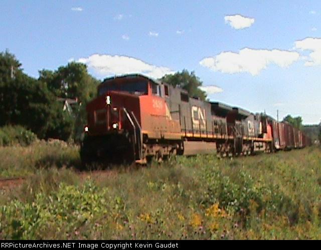 CN 406 at Rothesay