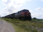 CN 405 departing the McCully's Potash plant
