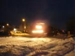 CN 405 at Hampton in the dark