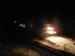 CN 405 near Sussex in the dark