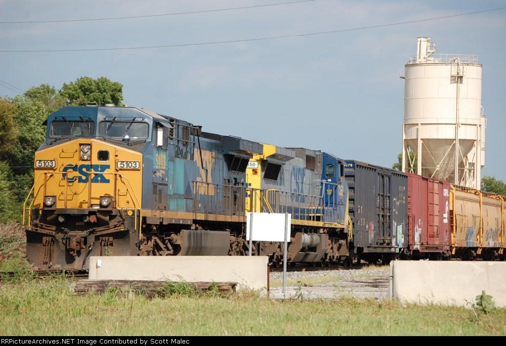 CSX 5103 & 7350