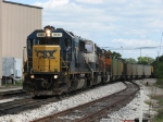 N903-12 brings western coal loads from the east due to recent flooding, washouts and landslides