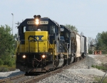 CSX 8864 & HLCX 8149 build speed heading west with Q335-20