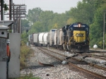 With the plant at Lamar having signal issues today, a maintainer watches Q326 roll through the plant from the shanty
