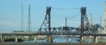 #856 crosses Lower Hack Lift Bridge