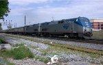 AMTK 145 future heritage unit, pulling AOE train