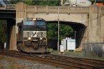 UntitledNS C40-9W #9552 leads an eastbound at CP Bethlehem in Bethlehem, PA. 9/7/2007
