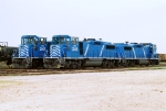 CEFX GP-20D 2007 & 2009 sit in the yard at 44th St. & Avenue E