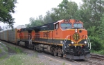 BNSF 992 + 1 takes autoracks west