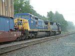 CSX 7691 on train Q199
