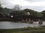 1248-37 NP 328 Northfield special crosses C&NW Bridge 15