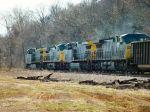 CSX 8 leads coal train Eastbound