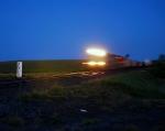 Eastbound coal at sunrise