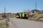Virginia and Truckee Railroad Tourist Train rounds a bend