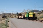 Virginia & Truckee Railroad Tourist Train approaches the Depot