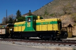 Virginia & Truckee Railroad GE 80 Tonner - No Number Visible