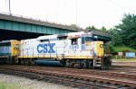 CSX 2246 handles some yard switching in Acca Yard