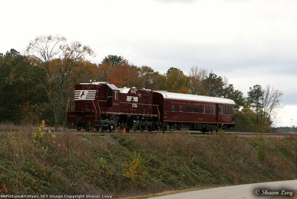 NS Track Geometry Train